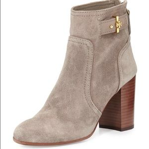 Tory Burch Suede Kendall booties, size 9, new